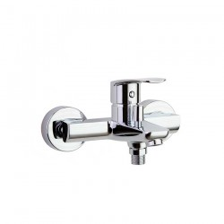 Monomando de baño-ducha, con sistema C2, sin equipo de ducha