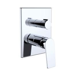 Grifo de ducha monomando para empotrar 2V iClever Vogue Xtreme EcoNature