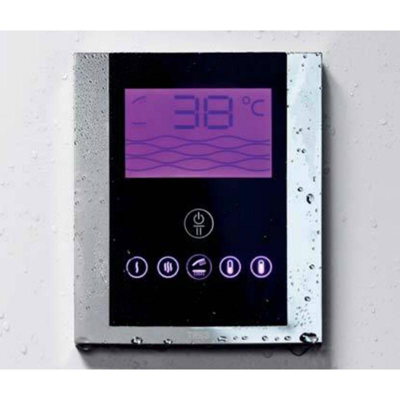 Griferia Para Ducha Tres:Kit electrónico ducha termostático empotrado Tres Grifería
