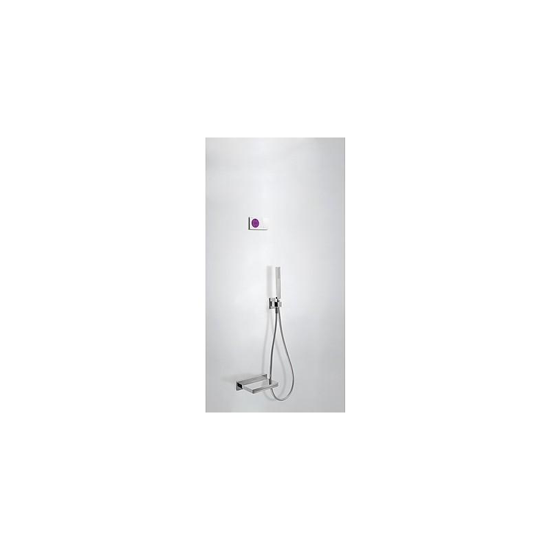Kit electrónico bañera termostático empotrado Slim-Tres.