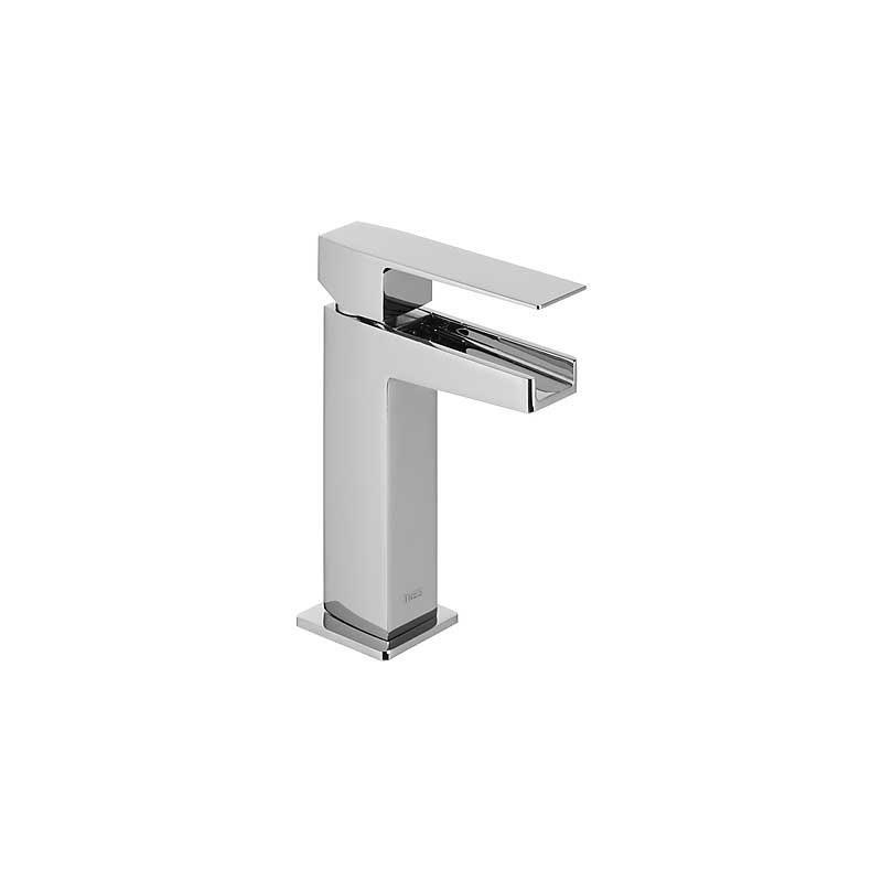 Monomando lavabo Slim-Tres con caño cascada libre. Ramon Soler, Urban Chic