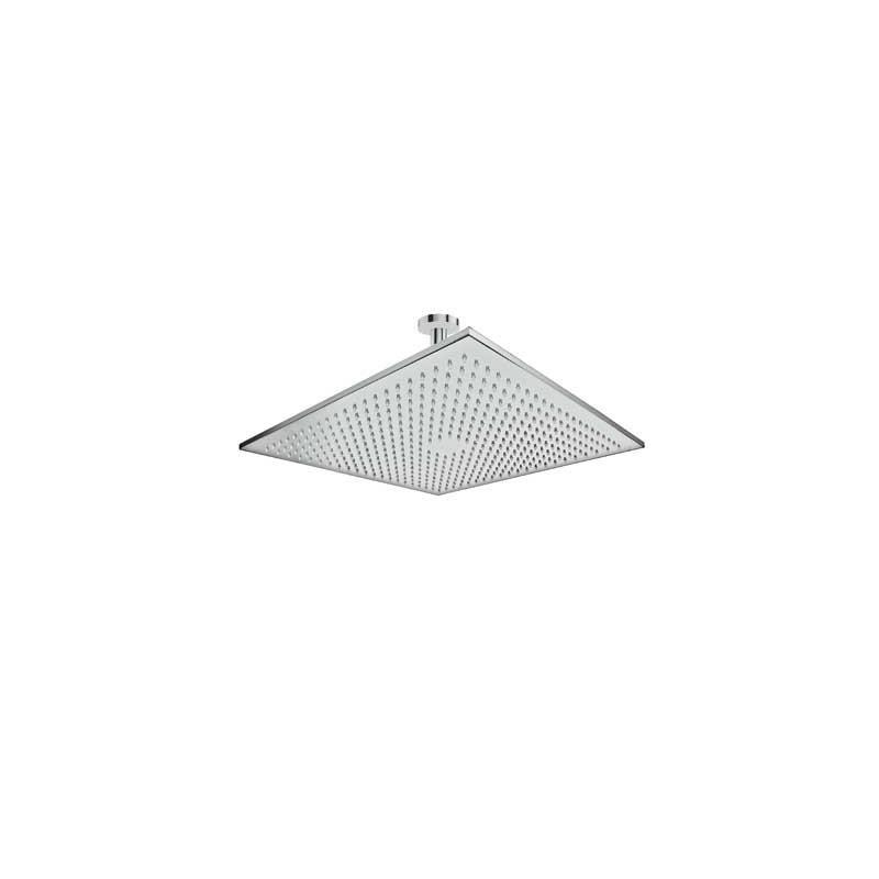 Rociador 45x45 cm con brazo de ducha a techo tres for Rociadores ducha empotrados techo