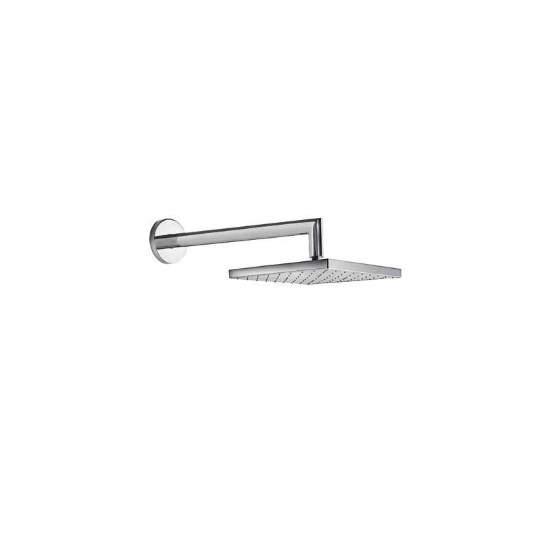 Rociador 25x25 cm con brazo de ducha a pared tres - Rociador ducha pared ...
