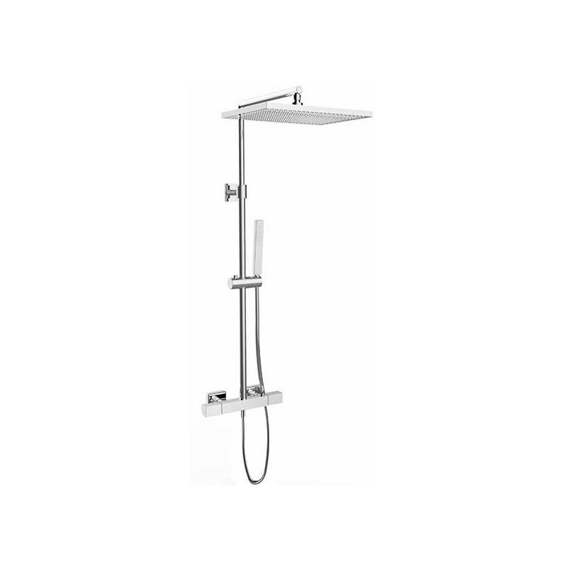 Conjunto ducha termost tica kala columna telesc p ca for Columna termostatica