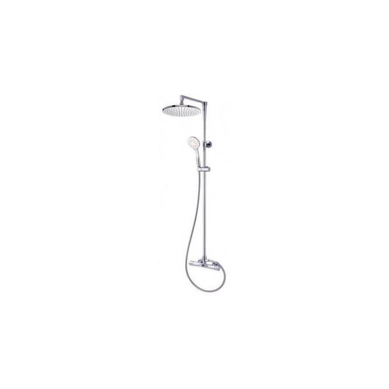 Conjunto ba o ducha termost tica jolie grober grifer a for Conjunto ducha termostatica