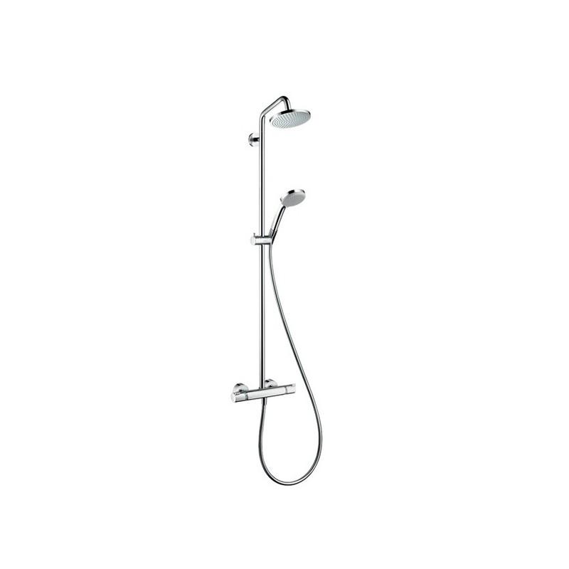 Cojunto ducha termostática Ecostat Comfort Hansgrohe Grifería.
