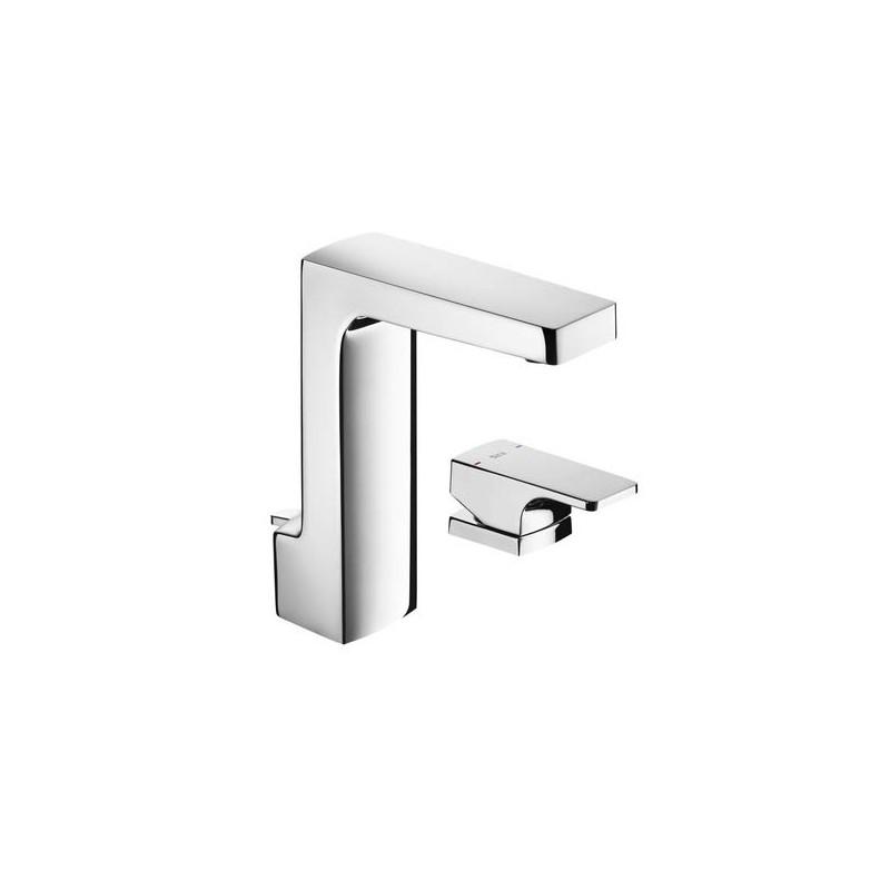 Grifo monomando lavabo con ca o desag e autom tico l90 - Grifo lavabo cano alto leroy ...