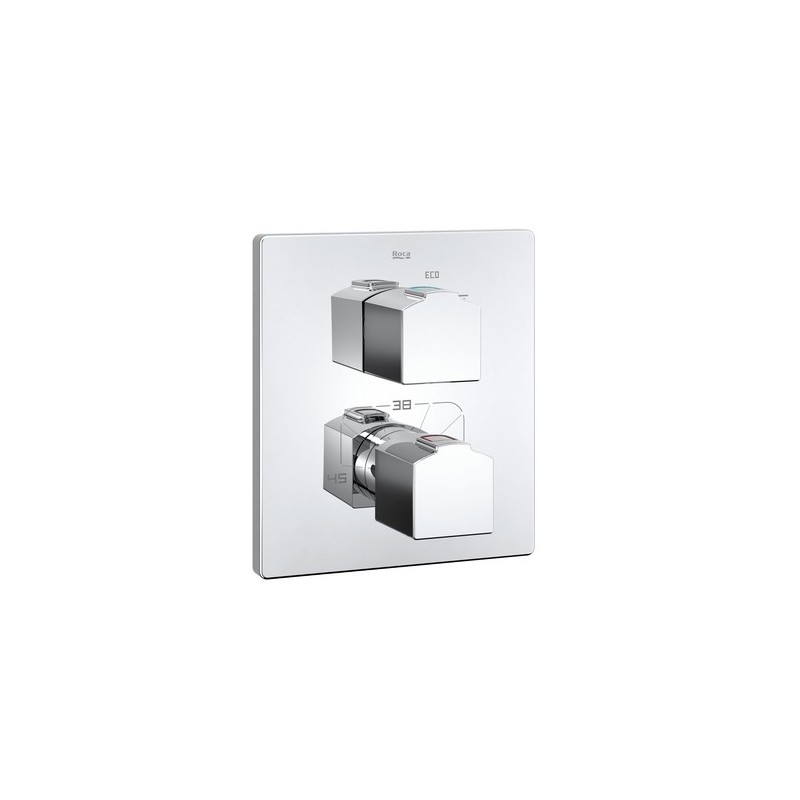 termost tica para ba o o ducha empotrada l90 roca grifer a