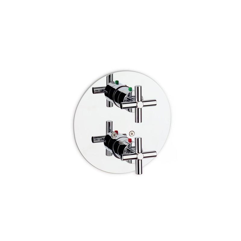 Griferia Para Baño Ducha: Mezclador termostático empotrado baño-ducha Loft Roca Grifería