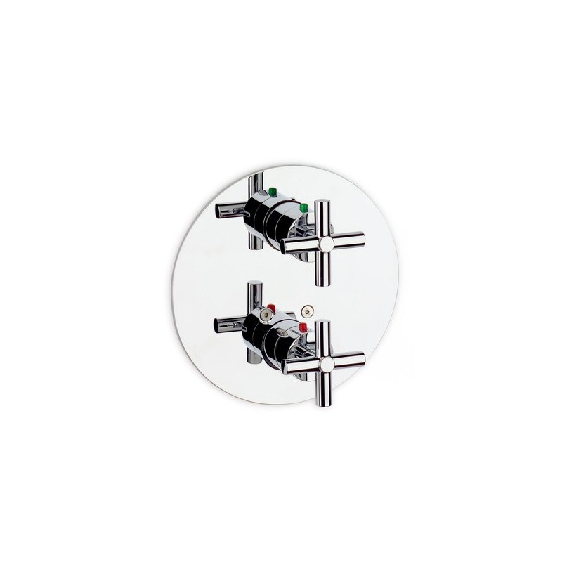 Grifo mezclador termost tico empotrado ba o ducha loft for Grifo termostatico ducha roca