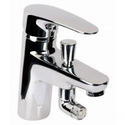 Grifo monomando Baño-ducha repisa Bahama Xtreme Grifería Clever.
