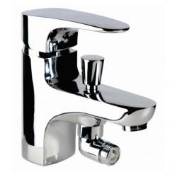 Grifo Monomando baño-ducha repisa Habana Xtreme Grifería Clever.