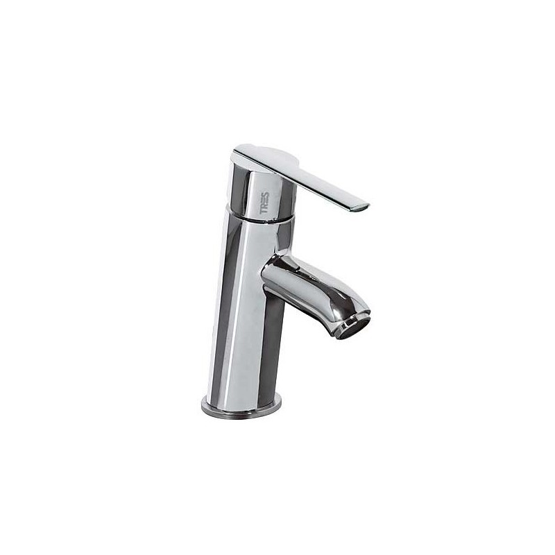 Grifo monomando lavabo con v lvula click clack lex tres for Valvula lavabo click clack