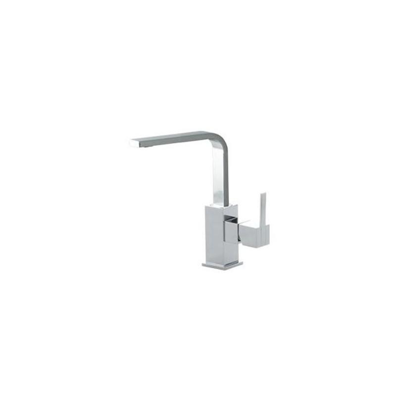 Grifo monomando lavabo alto kuatro nk ramon soler for Grifo alto lavabo