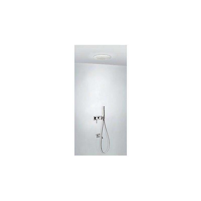 Kit de ba o ducha con ca o tubo monomando 3 v as tres for Tubo para ducha
