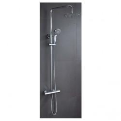 Conjunto termostática ducha visto Londres IMEX Grifería.
