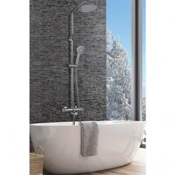 Conjunto termostática baño-ducha visto Rhin IMEX Grifería.