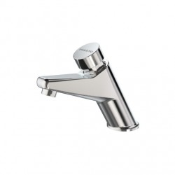 Grifo temporizado lavabo agua fría serie Presto 105 - L ECO
