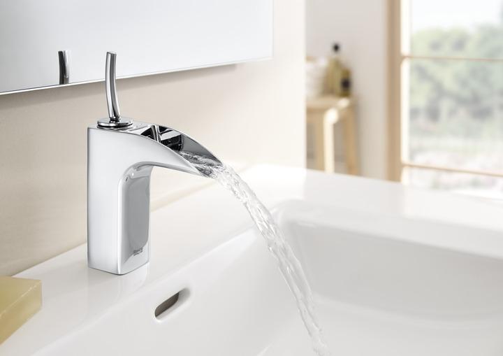 Griferia Vidrio Cascada Para Baño Diseno Elegancia: de líneas rectas, cilíndricas o inspiradas en diseños naturales
